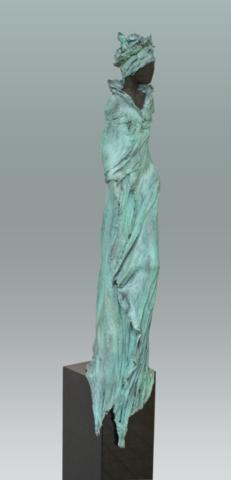 beeld brons Kieta Nuij