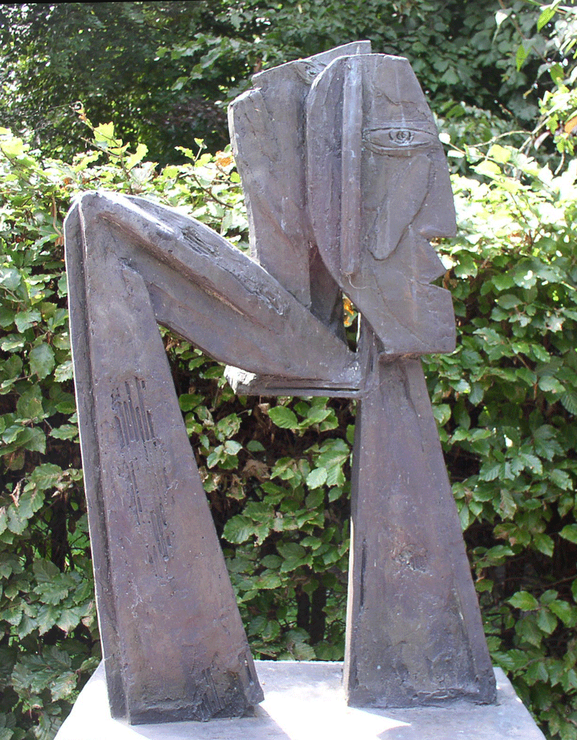 sculptuur Yvan Theys