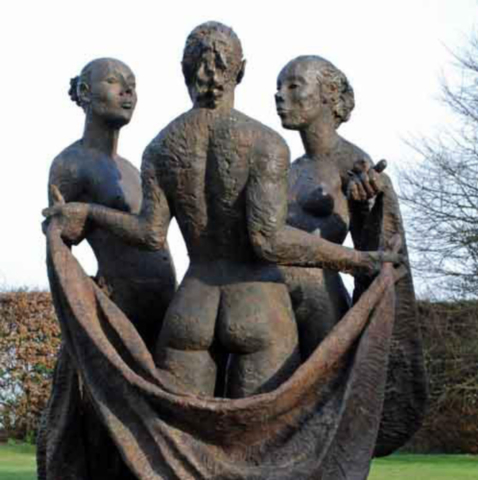 sculptuur Edward Vandaele