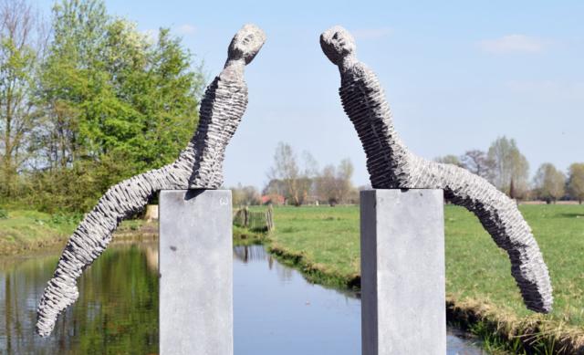 sculptuur Eddy Walrave