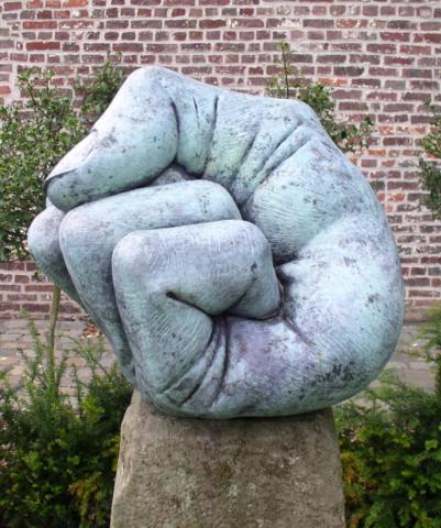 sculptuur Etienne Desmet