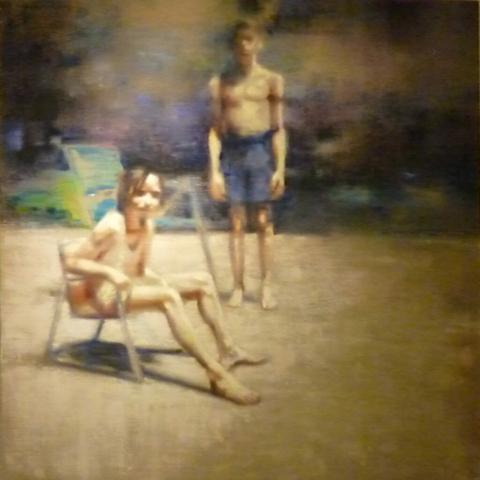 schilderij Joelle Delhovren