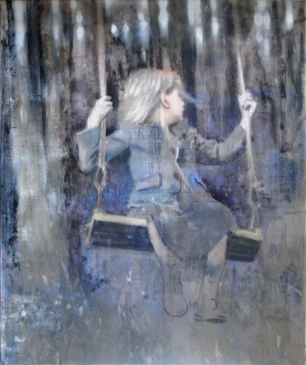 schilderij Joëlle Delhovren
