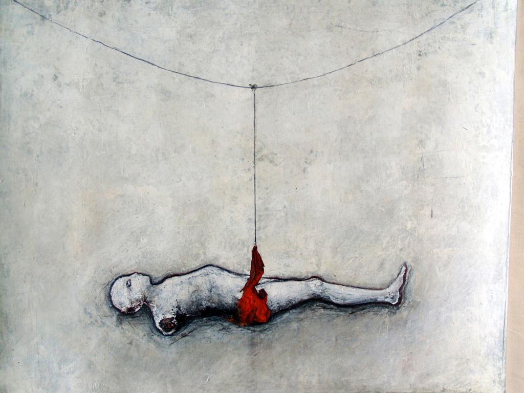 schilderij Michèle Grosjean