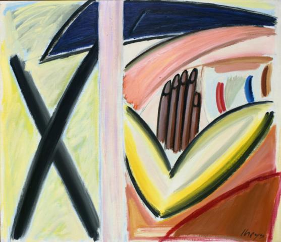 schilderij Yvan Theys