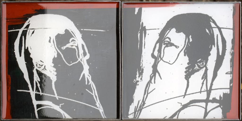 Geert DEVOS – zonder titel – acryl op paneel + epoxy – 550 €