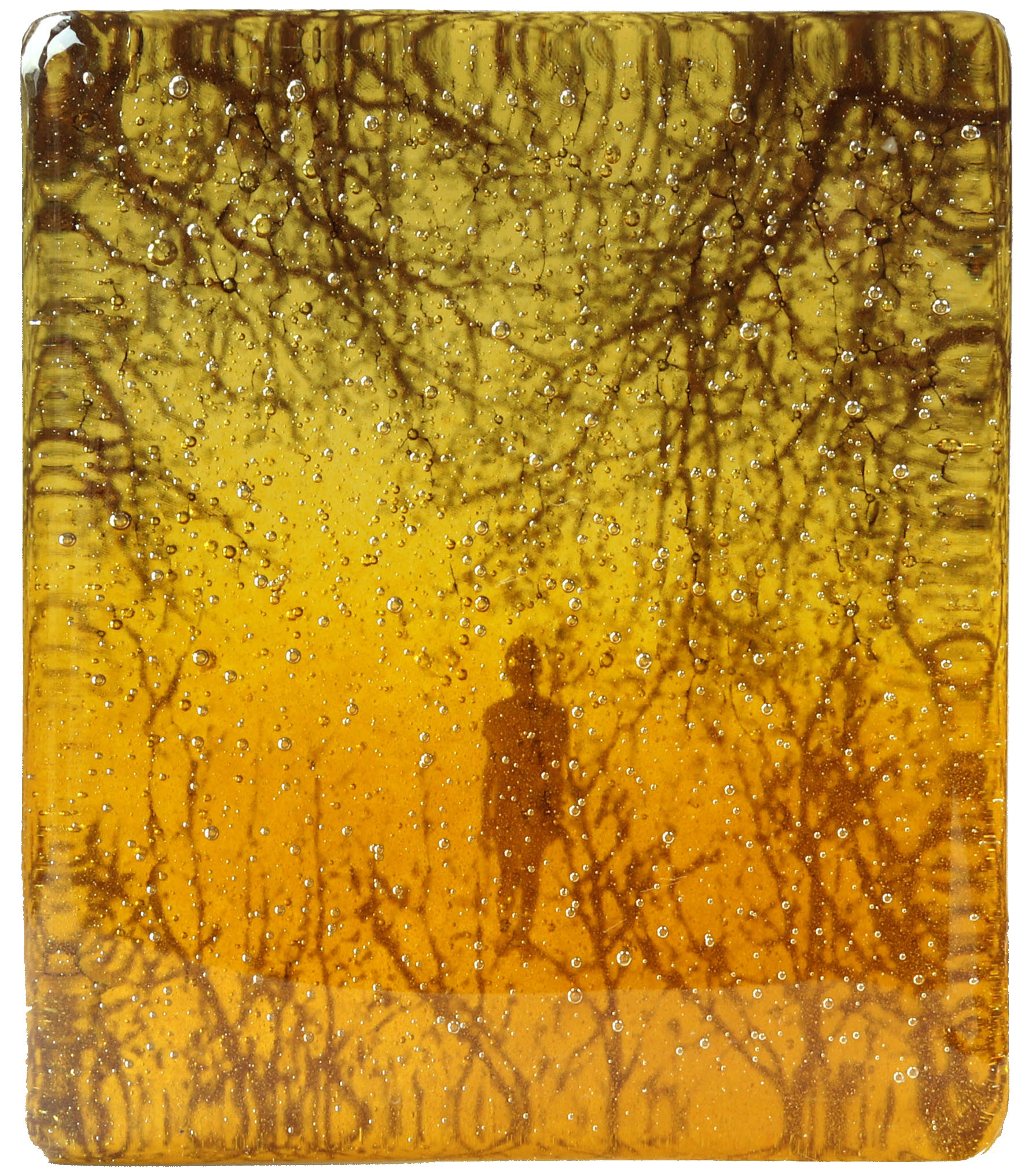 """Marieke PETERS – """"Feeling inner beauty"""" – fused glass – 500 €"""